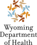 Logo mark of the Wyoming Department of Health